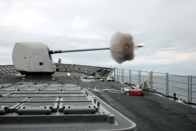 These Guided Smart Shells Could Revolutionize The Navy's Dated Deck Guns