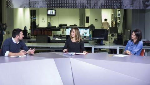 Debate de Publico TV entre Rita Maestre y Ramón Espinar, moderado por Ana Pardo de Vera