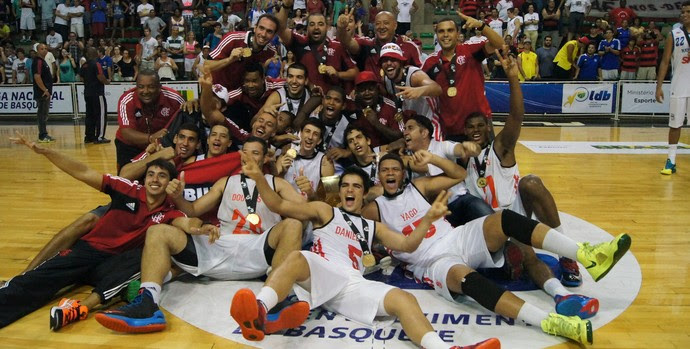 Flamengo é campeão da LDB (Foto: Fabio Leme)