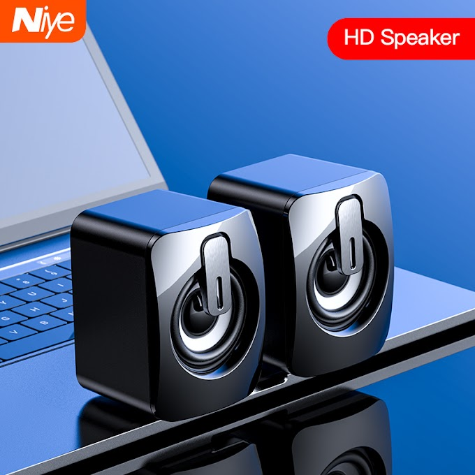 Mini USB Speaker For Computer 3D Stereo Wired Speakers Sound Surround Loudspeaker For PC Laptop