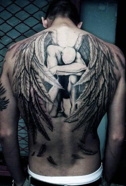 Across The Back Tattoo Tattoo Ideas