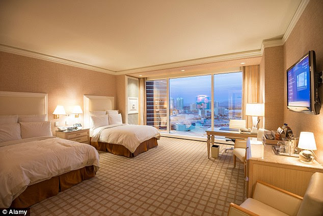 Hotel rooms may appear clean, but there are certain areas the cleaning staff don't often have time to inspect