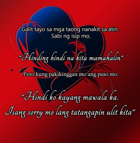 Unit Twenty Two Quotes Tagalog Love For Him Free Images Pictures Pics Photos 2013