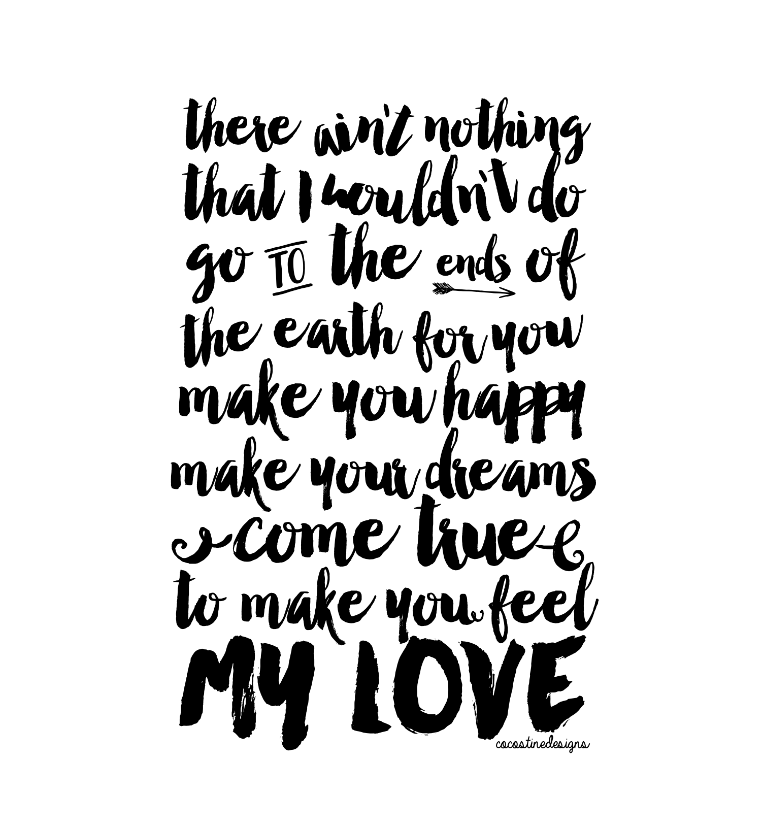 To Make You Feel My Love