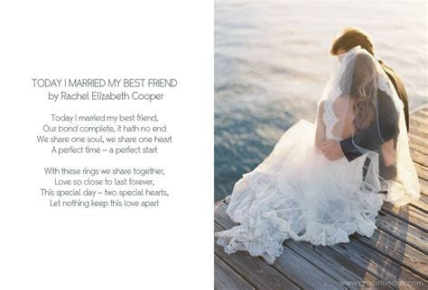 Today I Married My Best Friend ~ Rachel Elizabeth Cooper