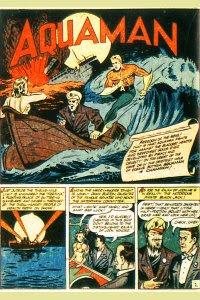 More Fun #77 Aquaman Splash Page