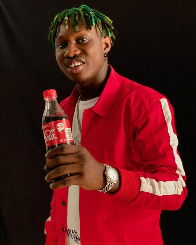 Zlatan Ibile Is Coca Cola's Latest Ambassador