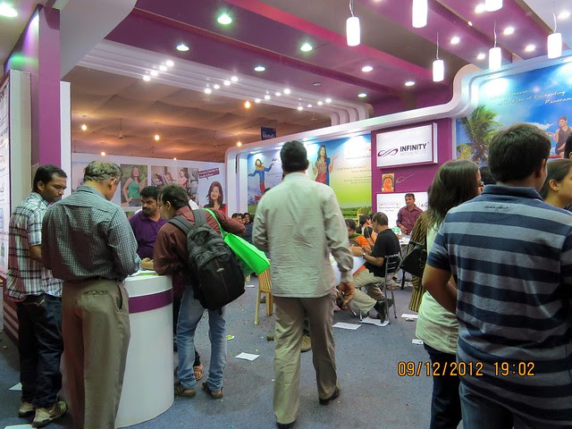 Pune Property Exhibition - Sakal Vastu - Property Expo - December 2012 - 5
