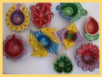 Diwali Diya Decoration Ideas   Latest Handicraf...