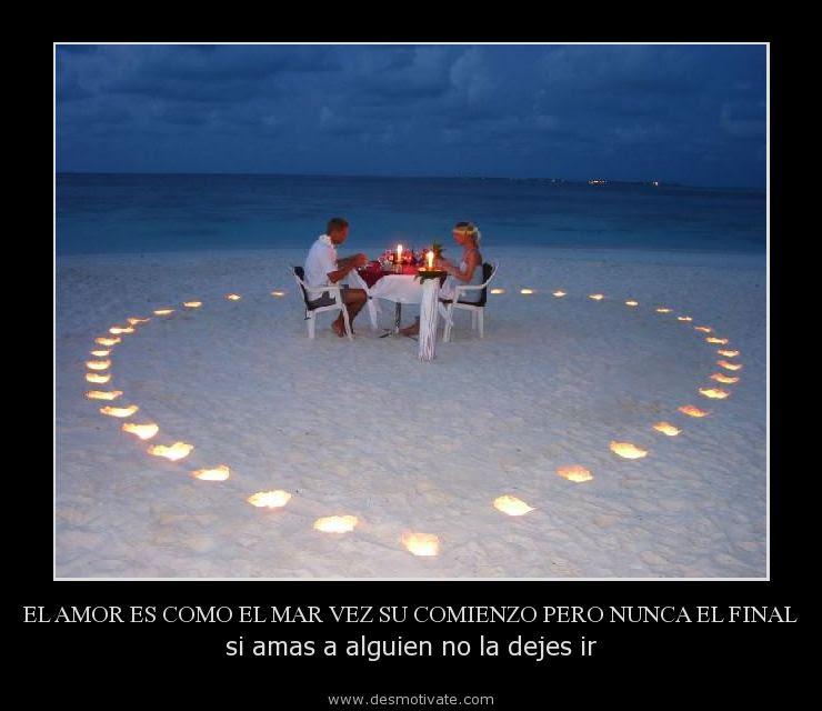 El Amor Es Como El Mar Vez Su Comienzo Pero Nunca El Final