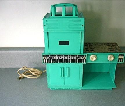1964 Kenner Easy Bake Oven in Teal