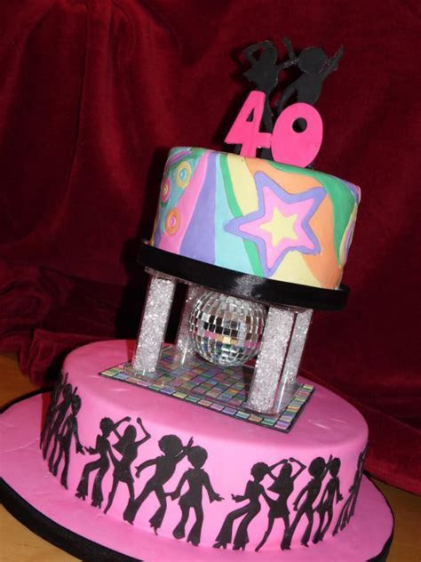 70's Theme Disco Cake   cake by emma   CakesDecor