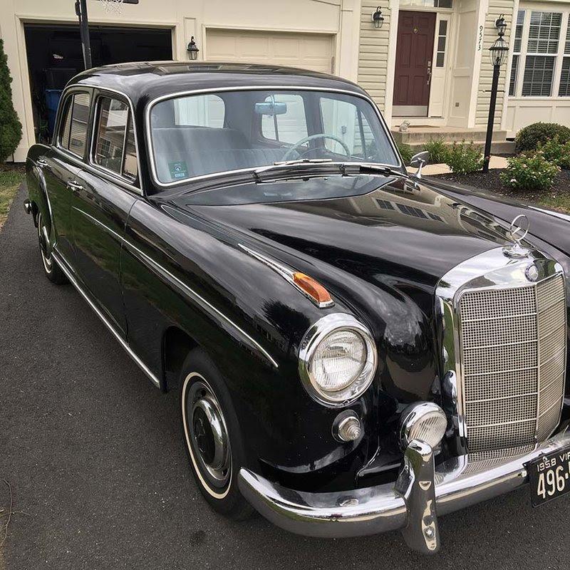 1958 Mercedes Benz 220S For Sale in Bristow, Virginia ...
