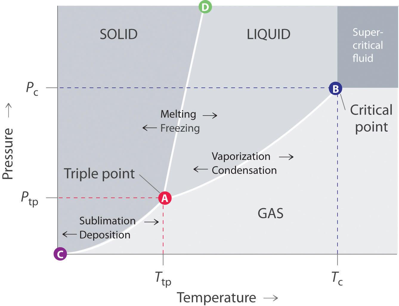 11.7: Phase Diagrams - Chemwiki