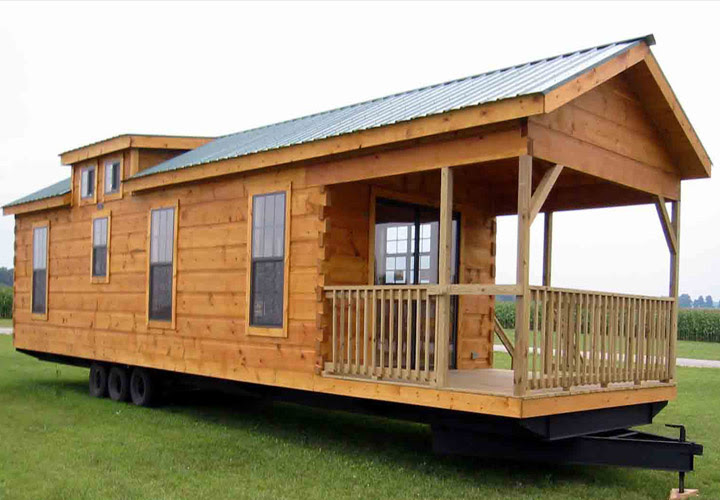 Log Cabin Mobile Home Park Mobile Homes Ideas