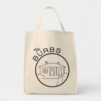 The Burbs Tote Canvas Bag