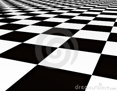 Black And White Floor Tiles Stock Photo - Image: 3106720
