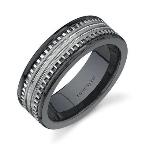 walmart mens silver spinner wedding bands fit mens