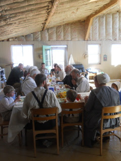 And Even More of The Community Group During the Meal