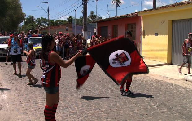 Bloco Rubro-Negro (Foto: Reprodução/TV Gazeta)