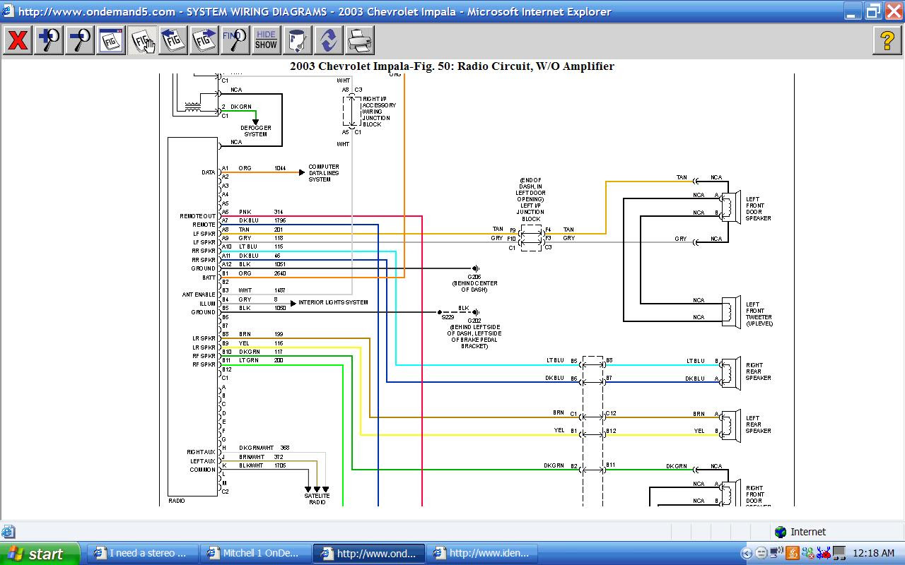 DOWNLOAD [DIAGRAM] 06 Impala Radio Wiring Diagram Full HD version -  LIPOLEAN.KINGGO.FRlipolean kinggo fr