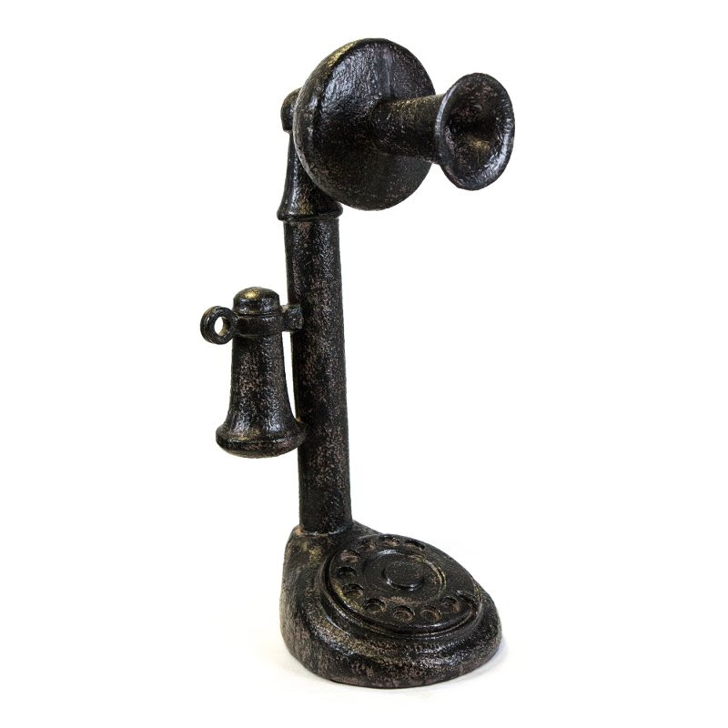 Black Old Fashioned Telephone Rc Willey Furniture Store