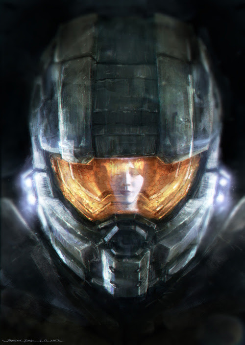 In celebration of the new Halo 4 being released, Kuala Lumpur, Malaysia artist and Halo fan Johnson Ting has created an excellent fan art illustration of the iconic Master Chief and his artificially intelligent sidekick Cortana. Related Rampages: Marvel Re-imagined (More) Cortana, please.. by Johnson Ting (deviantART) (Facebook) (Twitter) via Johnson Ting