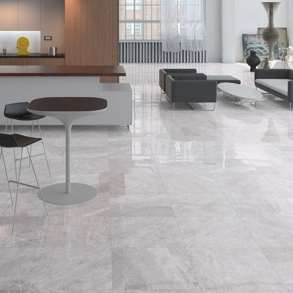Marble Effect Floor Tiles Designed by Cicogres of Spain ...