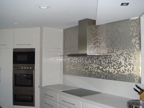 luxury wall tile kitchen design