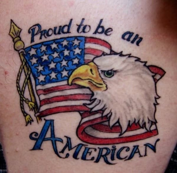 American Flag Tattoos For Men Ideas And Designs For Guys