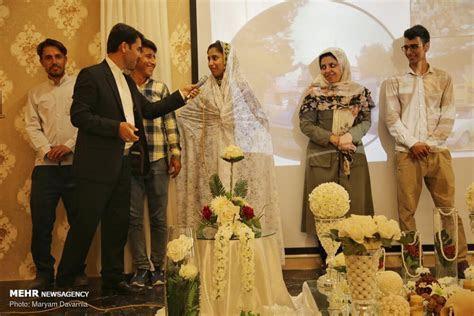 Mehr News Agency   Mass wedding ceremony in North Khorasan