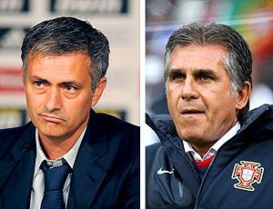 José Mourinho e Carlos Queiroz