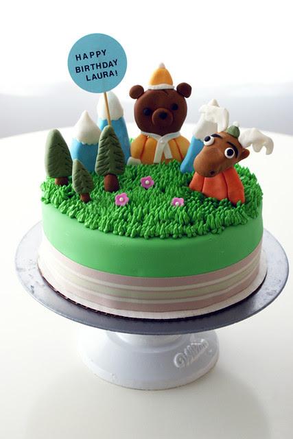 kawaii!! my favourite cake that i've made lately! ^_^