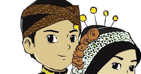 gambar kartun pernikahan jawa aliansi kartun