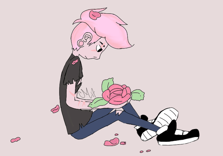 Rose colored Lars is our Rose-Colored Boy