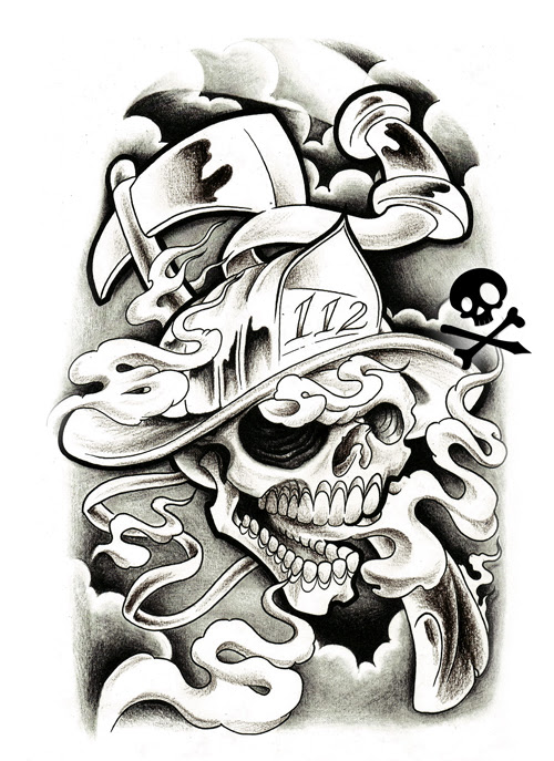 Gredersawer2012 Black And Grey Tattoo Designs