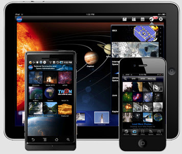 NASA on the iPhone and iPad