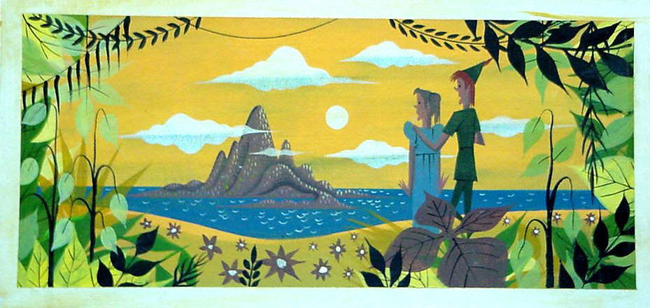 Mary Blair Peter Pan and Wendy