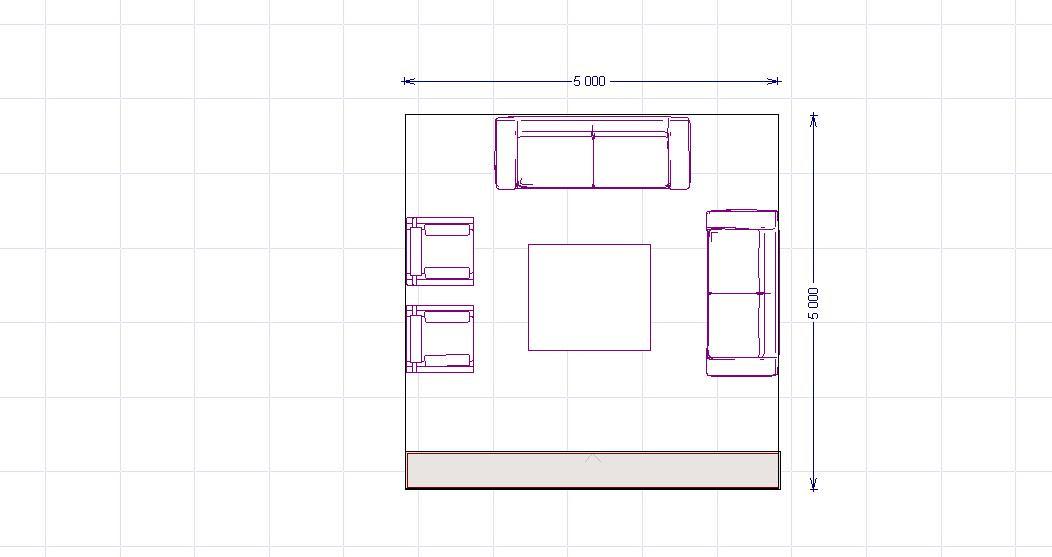 Arredare il soggiorno capitolo 2 for Divano angolare misure minime