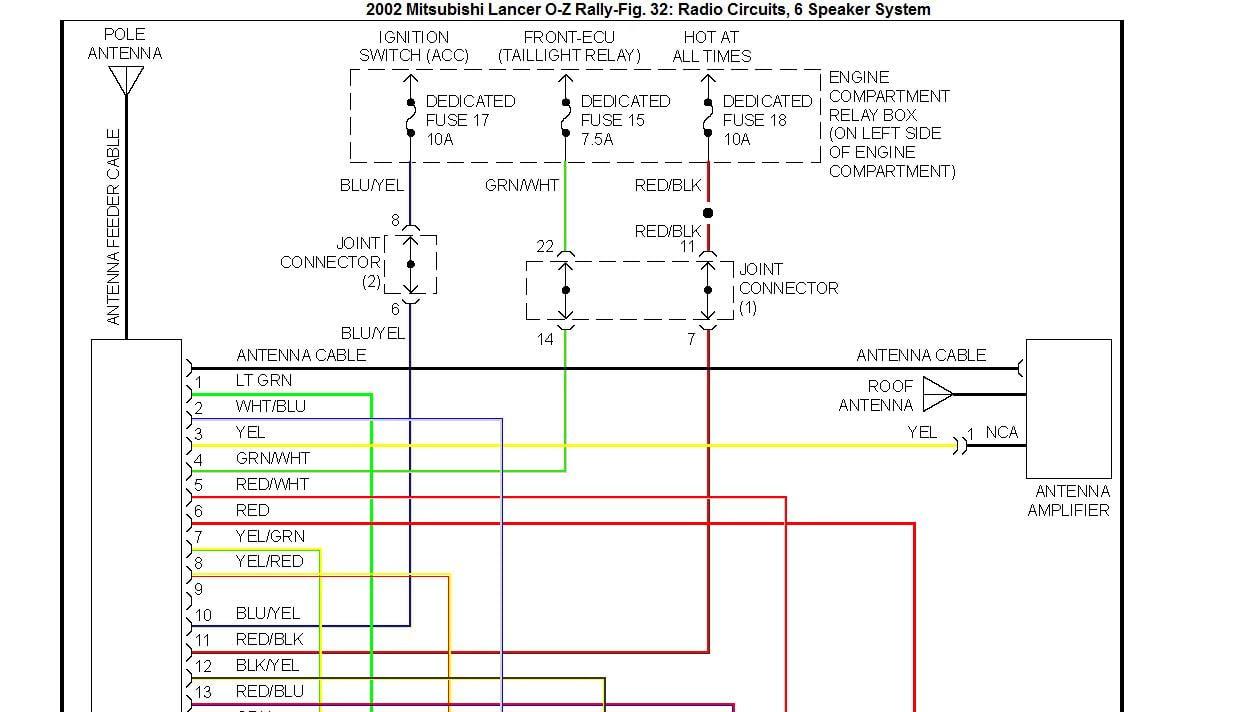 2000 Mitsubishi Mirage Radio Wiring Wiring Diagrams List Legend A List Legend A Ristorantealletrote It