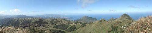燦光寮山山頂全景