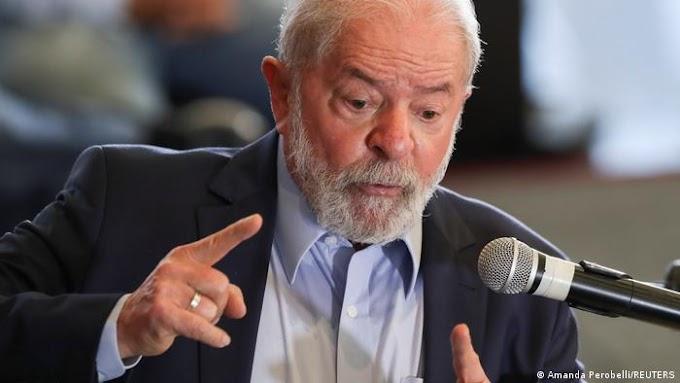 """LULA CALIFICA DE """"GENOCIDIO"""" LAS 500 MIL MUERTES POR COVID-19 EN BRASIL"""