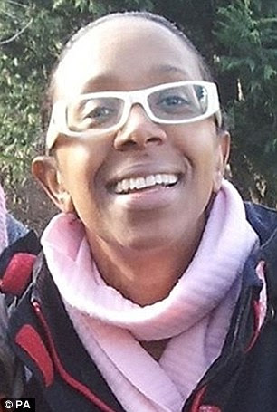 Missing: Sian Blake and her two young children were last seen on December 13. Scotland Yard confirmed that three bodies have now been found