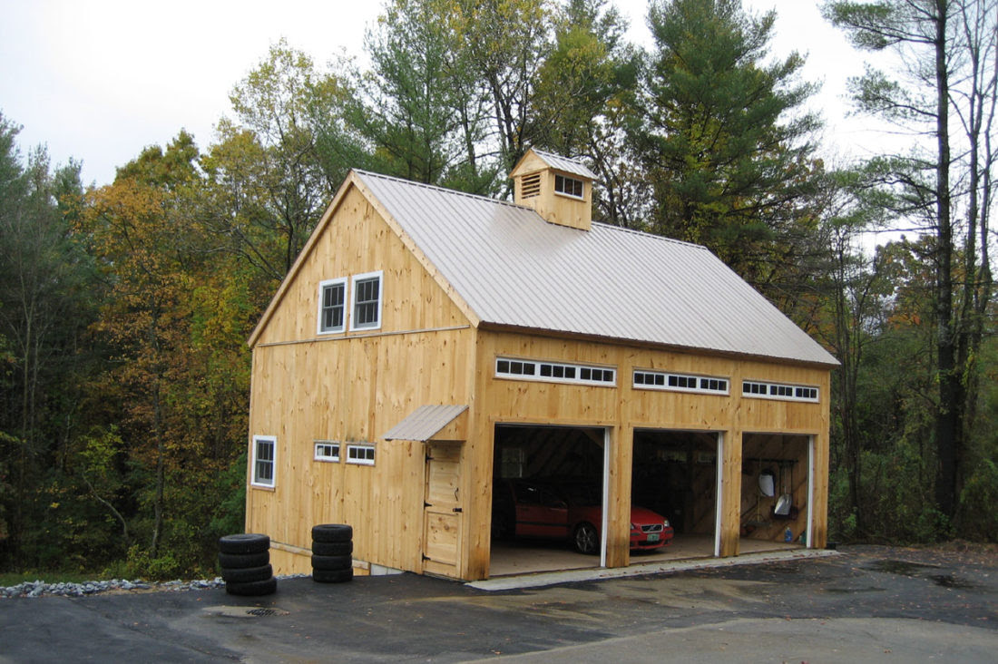 Massachusetts Garage Barn
