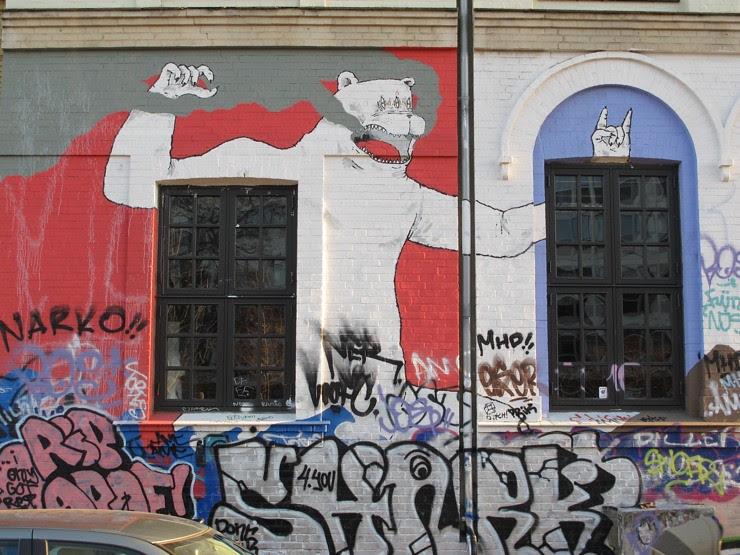 Copenhagen school mural