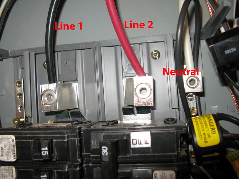 Ekm Meter Setup For 220v Circuits