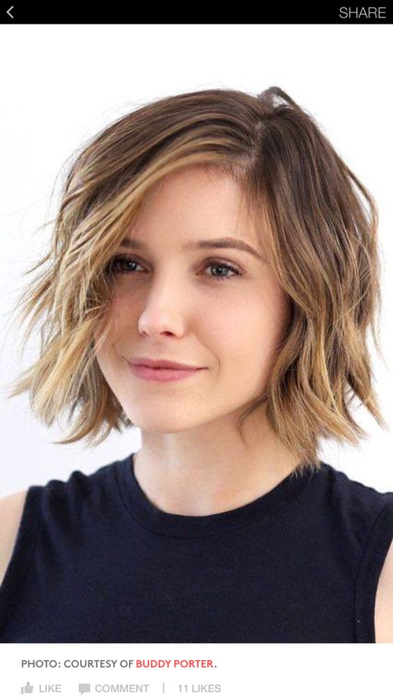 40 Stacked Hairstyles  for Short  Thin Hair  Round  Faces  to