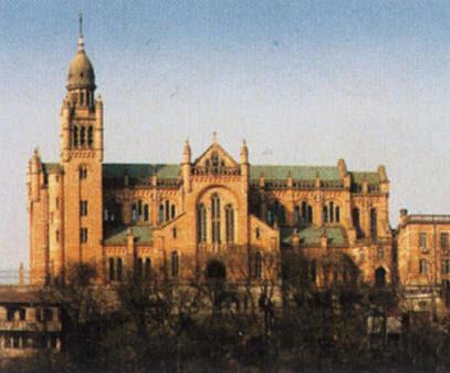 Resultado de imagen de santuario mariano de Sheshan en Shanghai