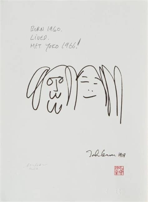 Yoko Ono On John Lennon's Forgotten First Love    Drawing