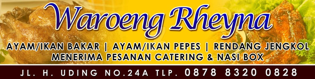 Banner Warung Makan Psd - desain banner kekinian